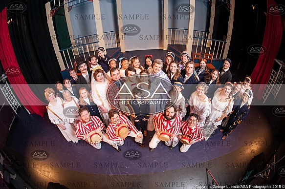 MCC - Music Man, Cast Photo