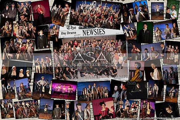 FA Day -Newsies, Show Poster